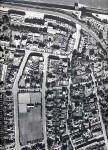 Aerial view of North-west Trinity, Edinburgh  -  1947
