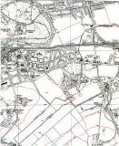 The Wisp  -  6 inch Ordnance Survey Map, 1938