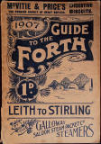 Cover of a Balloon Map of the Firth of Forth, published in 1907