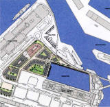 Forthside -  Plan of Port of Leithr  -   part of the Forthside Masterplan