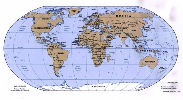 world map political map. Political Map of the World -