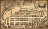 Map of Edinburgh New Town  -  Kirkwood, 1819