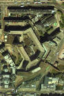 Detail from an aerial photograph of Edinburgh  -  XYZ Digital Map Co, 2001  -  St James Square