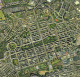 Aerial View of Edinburgh New Town  -  2001