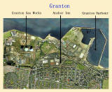 Aerial View of Granton and Edinburgh Waterfront, 2001+ Legend
