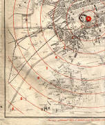 Edinburgh Time-Gun Map  -  1861  -  Section 4