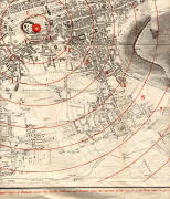 Edinburgh Time-Gun Map  -  1861  -  Section 5