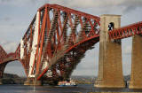 'Maid of the Forth' passing under the Forth Bridge   -  October 30, 2005