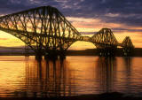 The Forth Rail Bridge  1  -  Calm Evening