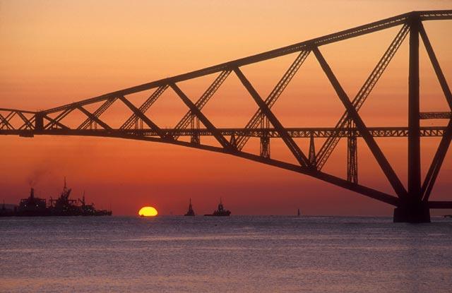 ... Stubbs - Forth Rail Bridge - Sunrise 2