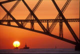 The Forth Rail Bridge  -  Sunrise 5