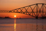 The Forth Rail Bridge  -  Sunrise 6
