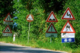 My Photographs   -  Italy  -  Road Signs in Tuscany