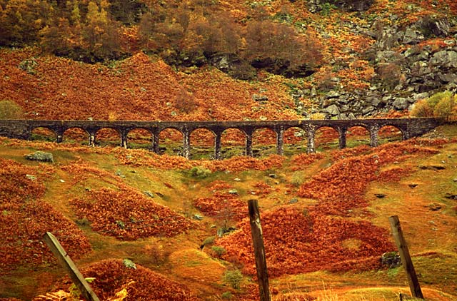 Glen Ogle in Autumn