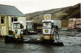 Old BP Petrol Station in the Scottish Highlands