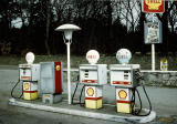 Shell petrol station in the Scottish Highlands