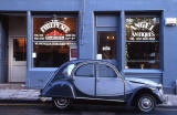 2CV and shop at 101-103 Causewayside, Southside, Edinburgh