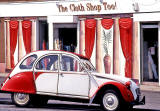 2cv and shop at 122 Granton Road, Boswall, Edinburgh