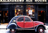 2CV and Pub at 4-6 Dean Street, Stockbridge, Edinburgh