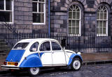 2CV at New Town, Edinburgh