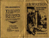 J B Watson  -  Developing and Printing wallet, 1929-31  -  Outside