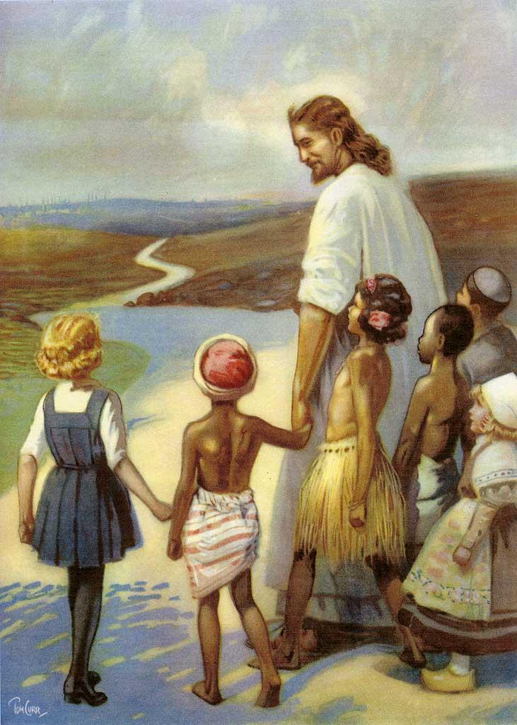 Paintings Curr Jesus In Edinburgh Follow Me