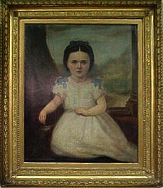 Oil Painting by Horsburgh - in a gold frame