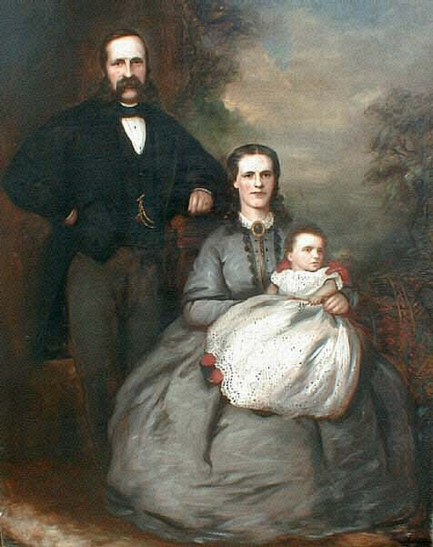 John Lamb  -  Victorian Family Portrait  -  Oil Painting on Canvas