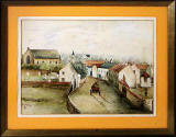 A painting of Restalrig by a painter with initials TH  -  Who was he?