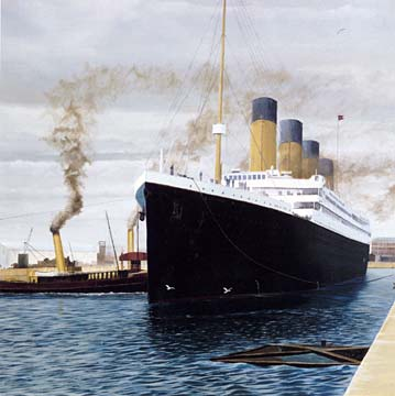 RMS Titanic Being Eaten By