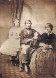 John Clunie Morison with his wife and daughters.  His elder daughter married the Edinburgh professional photographer, Richard Stuart Brown