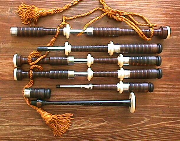 John Center Bagpipes  -  Parts