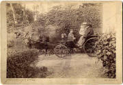 A photograph by John Horsburgh  -  A coach, possibly including Queen Victoria