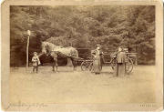 A photograph by John Horsburgh  -  A coach and Queen Victoria
