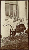 3 Horsburgh children, probably photographed at Auchterarder House, Perthshire, Scotland