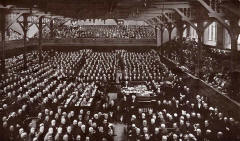 General Assembly of the United Free Church of Scotland, 1929  -  Enlargement of a Photograph by  Francis Caird Inglis