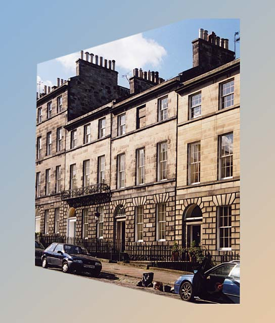 India Street, including No 14, the birthplace of James Clerk Maxwell -  Photographed 21 August 2004