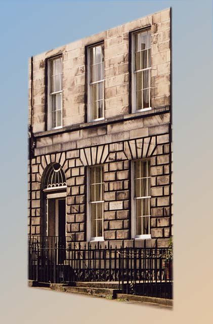14 India Street  -  The birthplace of the Scottish Scientist, James Clerk Maxwell