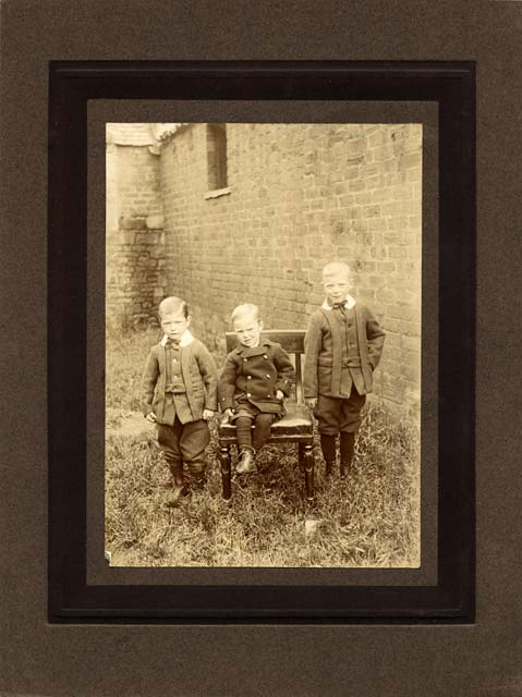 Milne & Co  -  outdoor photo of three young boys