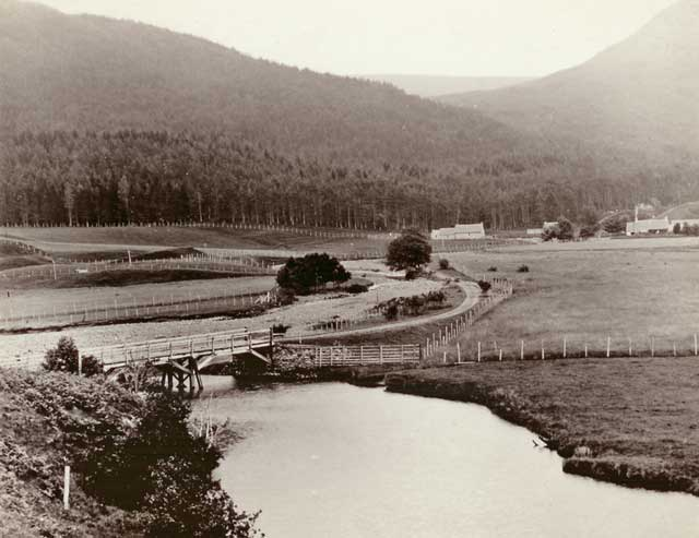Photograph from the family of Horatio Ross  - Deer Forest and Deer Fences in the Scottish Highlands