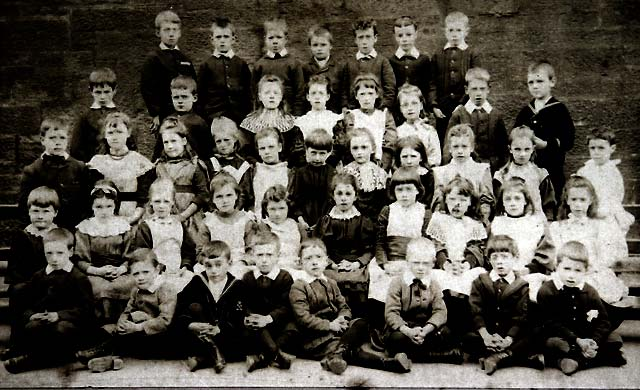 Photograph from the Turner Family Album  -  Leith Walk School 1893