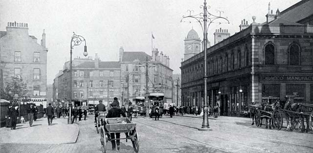 W R & S Ltd  -  Photograph from the early-1900s  -  Foot of The Walk, Leith