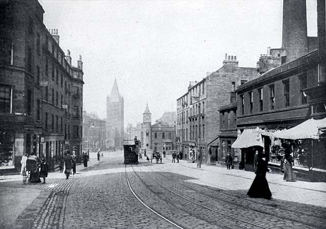 W R & S photograph from around the early 1900s  -  Stockbridge