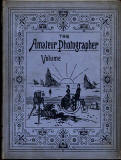 Photographic Journals - The cover of bound volumes of The Amateur Photographer, 1891