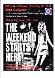 Poster for Charity Dance: 'The Weekend Starts Here'  -  June 25, 2010