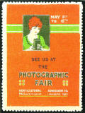 Advertisement for Photographic Fair at Horticultural Hall, London  -  1922