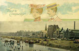Post Card  -  Portobello Pier  -  The Art Publishing Co, Glasgow