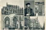B & R Postcard  - John Knox and associated buildings