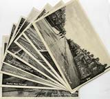 Set of 8 postcards in 'Goldenacre' series,  published by Burns Stationery Depto, Goldenacre, Edinburgh