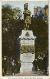 Postcard  -  Castle Series  -  Black Watch Memorial, The Mound